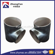 Butt welding pipe fitting carbon steel tee made in China