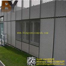 Aluminio de metal expandido para revestimiento de pared exterior Panel / malla decorativa