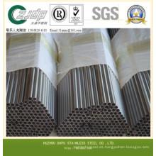 310S Tubos de acero inoxidable tubos soldados Tubo de acero