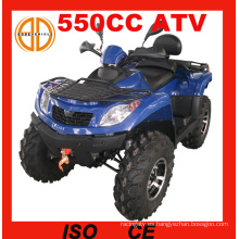 Motocicleta del EEC 550cc 4 ruedas