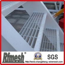 Plancher de grille à barres en acier galvanisé