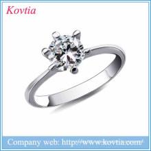 Новые продукты 2016 твердый серебристый серый металл 925 серебро ювелирные изделия свадьба серебряные ювелирные изделия 925 натуральные кольца