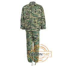 Uniforme Militar Quaility con ISO y SGS Estándar