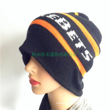 Fashion Strip Knit Winter Hats