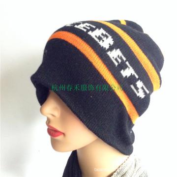 Fashion Strip Knit Winter Hats