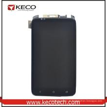 Мобильный телефон Передний ЖК-дисплей + сенсорный сенсорный дигитайзер Стекло с заменой рамы для HTC One X G23 S720E