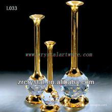 Bonito vaso de cristal L033
