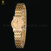 Waterproof Gold Bracelet Jewelry Wrist Watch for Women Lady Girls