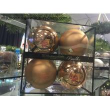 Weihnachtsdekoration Ball in multi Farbe mit neuem Material (OEM Willkommen)