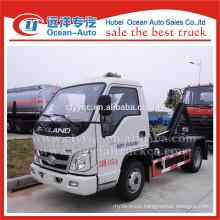 FOTON 3cbm mini hook lift truck