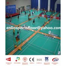 Tapis de sol de badminton en PVC pour intérieur