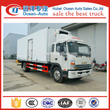 Famoso marca JAC 10ton congelador veículo de transporte de alimentos à venda
