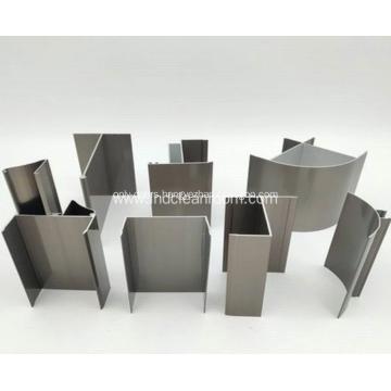 Aluminum profile for clean room door