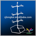 Hot sale metal wire decorative light duty greeting card display shelf