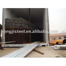 supply good welded steel tube