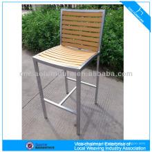 Modern plastic wood dining chair