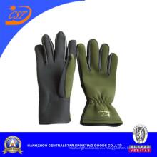 Moda guantes de pesca de neopreno