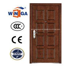 El mejor precio de venta Puerta blindada MDF de acero de seguridad Winga (W-A6)