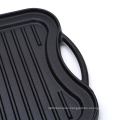 cast iron bbq grill pan camping cookware