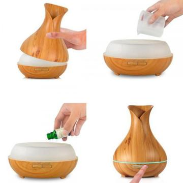 400ml Wood Essential Oil Electric Nebulizer Without Heat