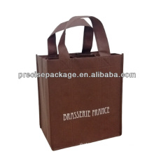 eco 6 nonwoven wine tote bag
