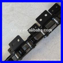Chaîne à rouleaux de transmission avec fixation C2050A2