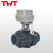 1 inch welded 2 way motorized pvc ball valve