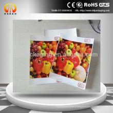 Ecosolvent inkjet media front print backlit PET film