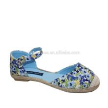 2015 Los zapatos ocasionales de los zapatos de los planos de la muchacha de la nueva muchacha de la vendimia calzan los zapatos del algodón
