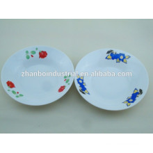 Заказная памятная керамическая тарелка супа