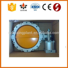 Factory price durable butterfly valve for cement silo discharging