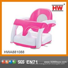 Hochwertige 2 In 1 Kunststoff Rosa Und Weiß Bad Stuhl Für Baby