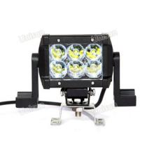 """12V / 24V 4.5 """"CREE 18W Dual Row LED fora da barra de luz de estrada"""