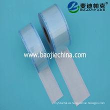 rollos planos desechables de sellado térmico dental