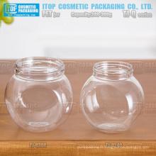 Série TJ-Q 240 et 300g gros ventre couleur personnalisable de bonne qualité en gros vide pour animaux de compagnie jar pour masque facial
