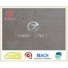 Imitación de terciopelo consolidado (PACA) Tejido para uso en sofás (ZCCF058)