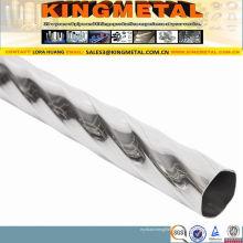Edelstahl-dekoratives Rohr ASTM A554 201 304
