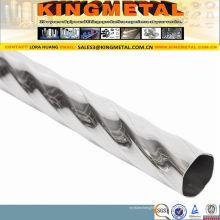 Tube décoratif d'acier inoxydable d'ASTM A554 201 304