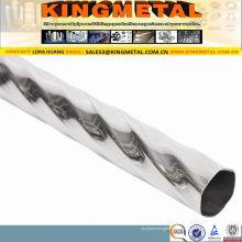 Tubo decorativo de aço inoxidável de ASTM A554 201 304