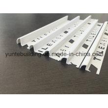 Material do PVC do perfil da borda da telha