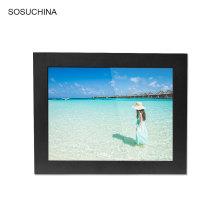monitor conduzido industrial da tela de toque do usb do quadro