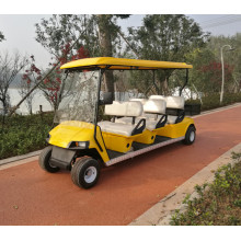 6 peoples shuttle golf cart/shuttle golf car