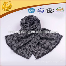 Moda Men Style Jacquard 100% Silk Winter Scarf
