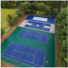 outdoor sports field flooring