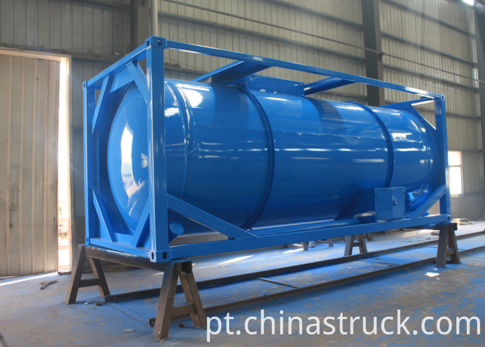 20FT 24000 liters waste water tank container