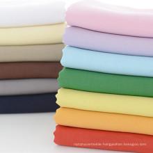 Solid Plain Fabric Lining Cotton Poplin Summer Fabric