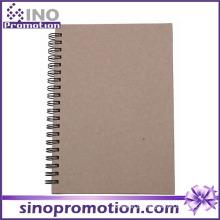 Caderno chinês espiral barato feito sob encomenda por atacado