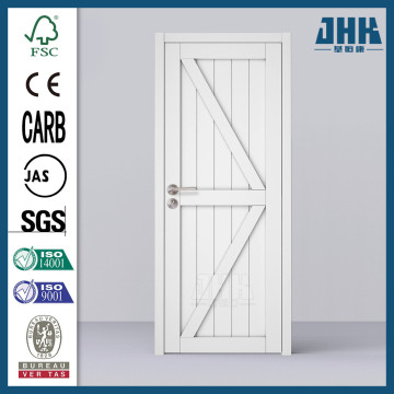 JHK Interior Solid Knotty Pine Wood Shaker Door