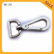 MH09 Großhandel Handtasche Zubehör Schwenkverschluss Metall Schnappverschluss Haken mit hoher Qualität
