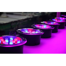 Lumière souterraine led 18w RGB avec compatible DMX512